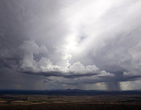 Arizona rain storm